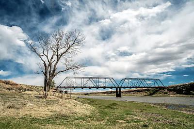 Lobato Bridge In Colorado Poster by Mary Lee Dereske