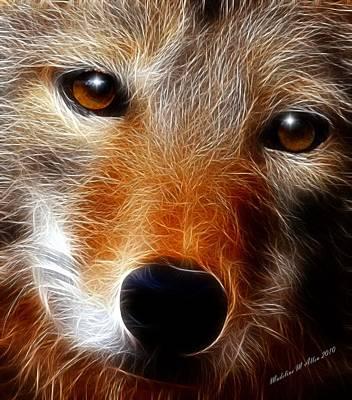 Lobo Poster by Madeline  Allen - SmudgeArt