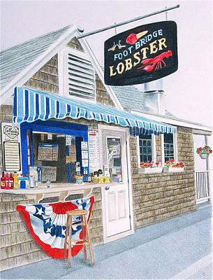 Lobster Shack Poster by Glenda Zuckerman