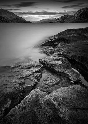Loch Maree Poster by Dave Bowman