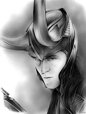 Loki Poster by Greg Joens