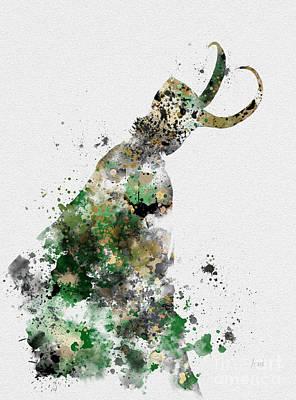 Loki Poster by Rebecca Jenkins