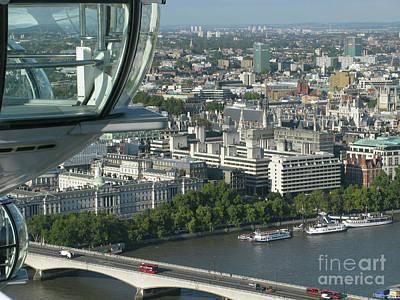 London Eye View Poster by Ann Horn