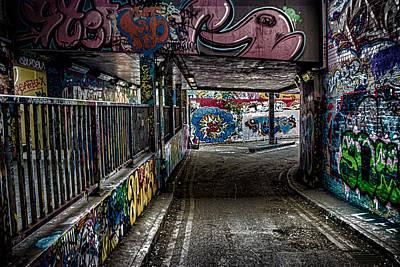 London Graffiti Poster by Martin Newman