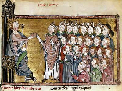 Louis Ix (1214-1270) Poster by Granger