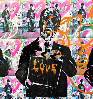 Love Chaplin Poster by Darren Scicluna