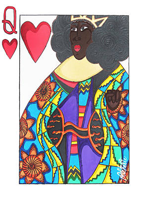 Love Queen Poster by Aliya Michelle