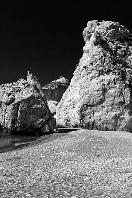 Aphroditie's Love Rocks Poster by John Rizzuto
