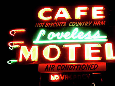 Loveless Cafe- Art By Linda Woods Poster by Linda Woods