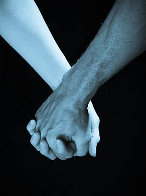 Lovers Hands Poster by Scott Sawyer