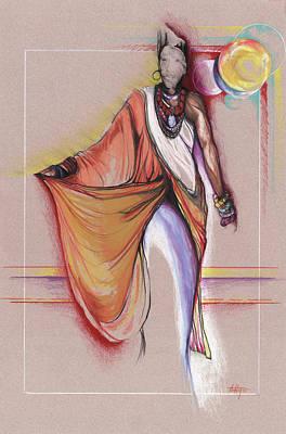 Lpr Black Woman Poster by Anthony Burks Sr