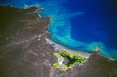 Luahinewai Aerial Poster by Peter French - Printscapes