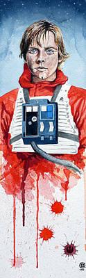 Luke Poster by David Kraig