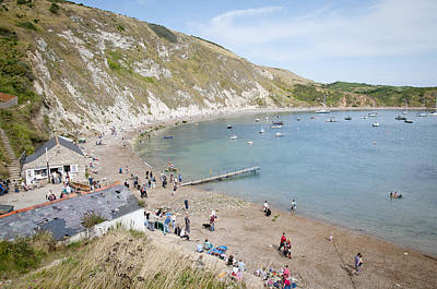 Lulworth Cove Dorset Uk Poster by Andy Smy