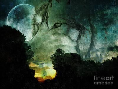 Luna Poster by Maria Urso