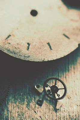 Machine Time Poster by Jorgo Photography - Wall Art Gallery
