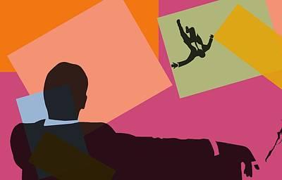 Mad Men Pop Art Poster by Dan Sproul