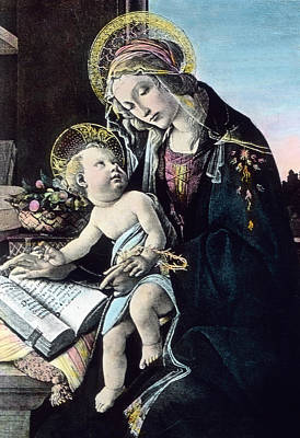 Madonna And Child Poster by German School