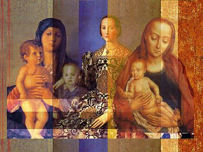 Madonnas  Poster by John Vincent Palozzi