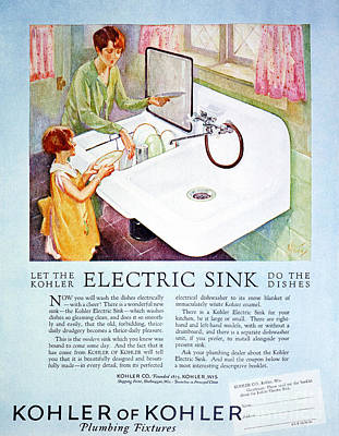 Magazine Ad, 1926 Poster by Granger