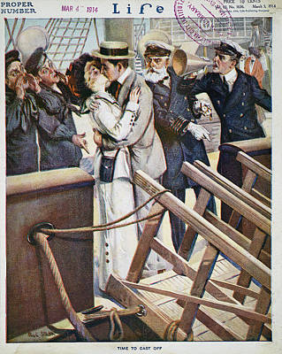 Magazine Cover, 1914 Poster by Granger
