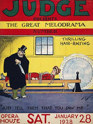Magazine Cover, 1928 Poster by Granger
