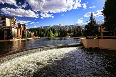 Maggie Pond In Breckenridge Colorado Poster by Judy Vincent