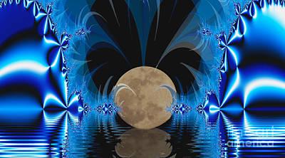 Magic Moon Poster by Geraldine DeBoer