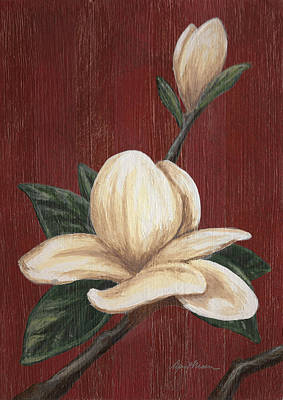 Magnolia I Poster by April Moen