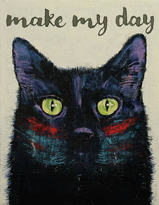 Make My Day Poster by Michael Creese