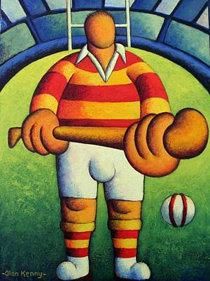 Make My Day- The Hurler Poster by Alan Kenny