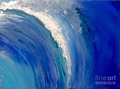 Make Waves Poster by Jilian Cramb - AMothersFineArt