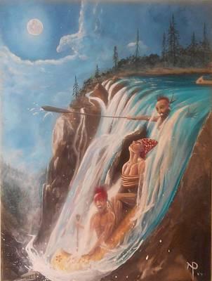 Malabeam's Sacrifice Poster by Nicholas Paul