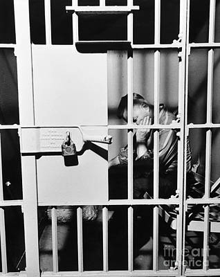 Man In Jail Cell, C.1960s Poster by H. Armstrong Roberts/ClassicStock