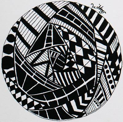 Mandala 2 Poster by Wattie Wildcat