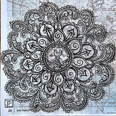 Mandala Of Routine Maintenance  Poster by John Parish