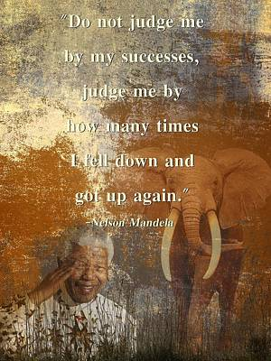 Mandela 4 Poster by Sharon Lisa Clarke