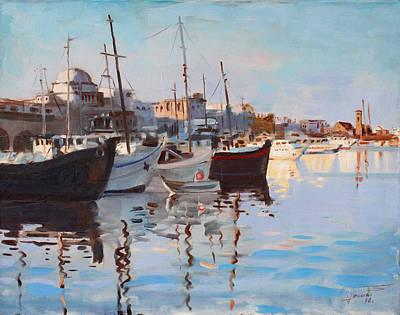 Mandraqi Rhodes Greece Poster by Ylli Haruni