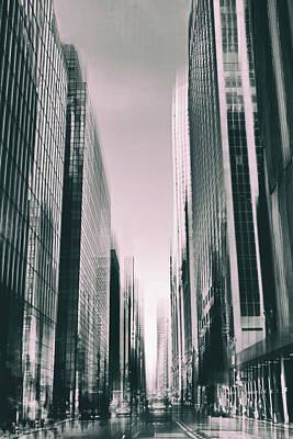 Manhattan Metropolis Poster by Jessica Jenney