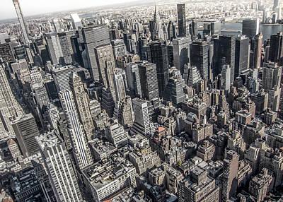 Manhattan Poster by Nicklas Gustafsson