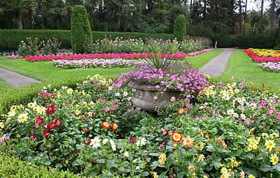 Manito Park Garden 1 Poster by Ellen Tully