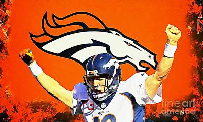 Manning Portrait Poster by John Malone
