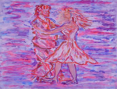 Maravillosa Danza Poster by Tom Lowell