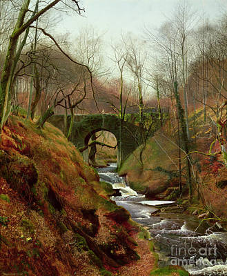 March Morning Poster by John Atkinson Grimshaw