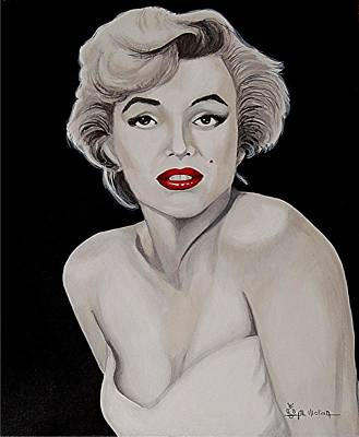 Marilyn II Poster by Al  Molina
