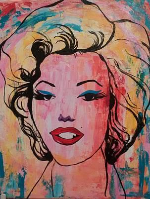 Marilyn Poster by Lynne McQueen