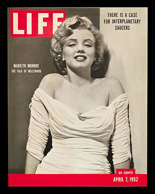 Marilyn Monroe - Life Magazine Cover 1952 Poster by Georgia Fowler