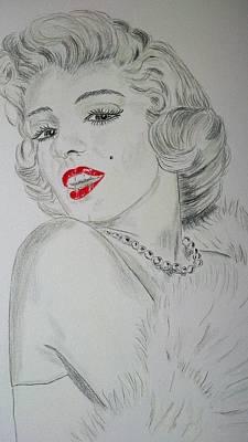 Marilyn Munroe Poster by Ger Ryan