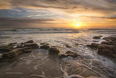 Marineland Sunrise 170 Poster by Maria  Struss