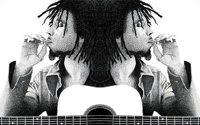 Marley In The Mirror Poster by Eric Robinson